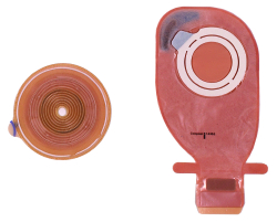 Assura® AC Easiflex® Ostomy Baseplate With Medium, 2 Inch Coupling