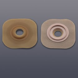 New Image™ Flextend™ Colostomy Barrier With 7/8 Inch Stoma Opening