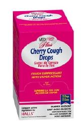 Medi-First® Plus Cold and Cough Relief, 125 per Box Lozenge