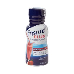 Ensure® Plus Strawberry Oral Supplement, 8 oz. Bottle