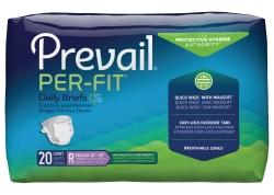 Prevail Per-Fit Maximum Absorbency Adult Briefs, Regular