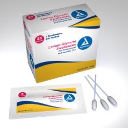 dynarex® Lemon-Glycerin Flavored Oral Swabstick