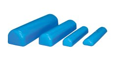 Skillbuilders® Elevated Half Roll, Foam, 18 in. L x 4 in. W x 3 in. H, Blue