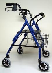 Sunmark® Econo 4 Wheel Rollator