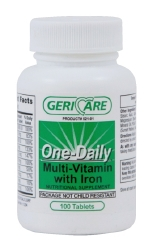 Geri-Care Multivitamin with Iron Supplement