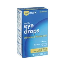Sunmark® Lubricant Eye Drops