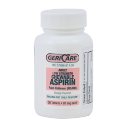 Geri-Care Chewable Aspirin