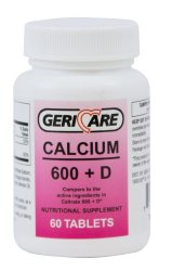 McKesson Brand Calcium with Vitamin D Supplement