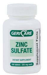 Geri-Care Zinc Sulfate Supplement