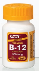 Major® Rugby® Vitamin B-12 Supplement
