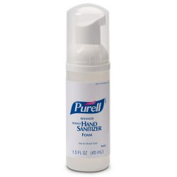 Purell® Foaming Hand Sanitizer 45 mL Pump Bottle
