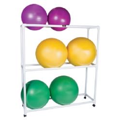 PVC Exercise Ball Floor Rack
