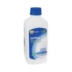 sunmark® Cooling Mint Flavor Antacid, 12 fl oz