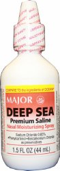 Major® Deep Sea Nasal Spray
