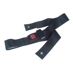 drive™ Seat Belt, For Use With Wheelchair, 48 in. L x 2 in. W x 1 in. H, Nylon