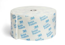 3M™ Reston™  Self-Adhesive Padding Roll, Foam, 196 in. L x 4 in. W, White