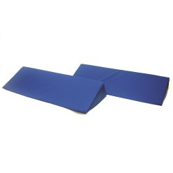 Skil-Care™ Positioning Wedge, Foam, 24 in. L x 12 in. W x 7 in. H, Blue