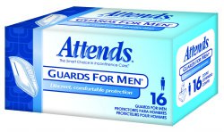 Attends® Guards For Men® Bladder Control Pad, One Size Fits Most Men