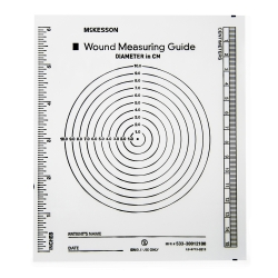 McKesson Wound Measuring Guide