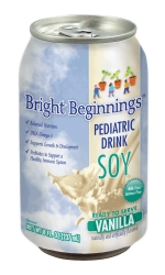 Bright Beginnings Soy Pediatric Oral Supplement, Vanilla, 8 oz. Can