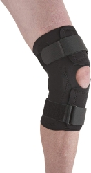 Ossur Neoprene Wraparound Hinged Knee Support, Large
