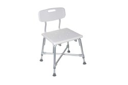 drive medical deluxe bariatric shower chair with removable back