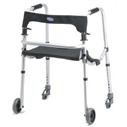 "Invacare WalkLite™ Walker with 5"" Wheels"