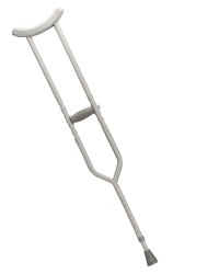 drive™ Bariatric Crutches, 5 ft. 10 in. - 6 ft. 6 in., Tall Adult, 500 lbs. Weight Capacity