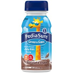 PediaSure® Grow & Gain Chocolate Pediatric Oral Supplement, 8 oz. Bottle