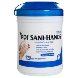 PDI® Sani-Hands® ALC Sanitizing Skin Wipe