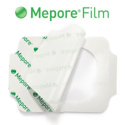 Mepore® Film Transparent Film Dressing, 2-2/5 x 2-3/5 Inch
