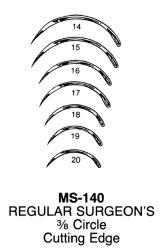 Miltex MS140-14