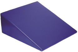 Skillbuilders® Positioning Wedge, Foam, 24 in. L x 26 in. W x 10 in. H, Blue