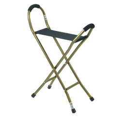 drive™ Cane Sling Seat, For Use With , 8 in. L x 34 in. H (Overall) / 5.75 in. W x 15 in. D x 22 in. H (Seat), Aluminum / Nylon