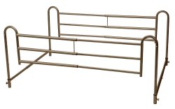 Drive Medical Adjustable Length Home-Style Bed Rail