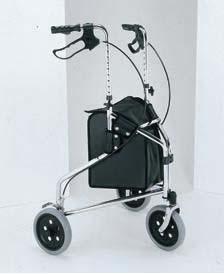 Merits 3 Wheel Rollator