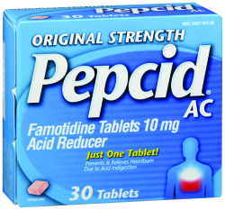 Pepcid AC® Antacid, 30 tablets per Box