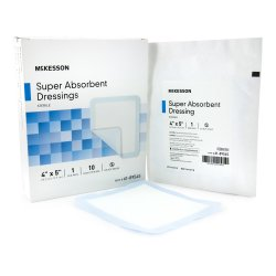 McKesson Super Absorbent Polymer Dressing
