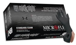 Microflex Midknight™ Exam Glove