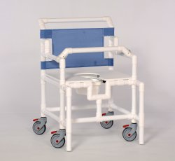 IPU Shower Chair Lap Bar, Plastic