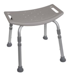 Drive™ Deluxe Aluminum Shower Bench without Back