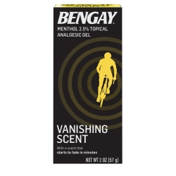Bengay® Greaseless Topical Pain Relief, 2 oz. Tube