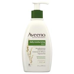 Aveeno® Hand and Body Moisturizer Lotion, 12 oz. Pump Bottle