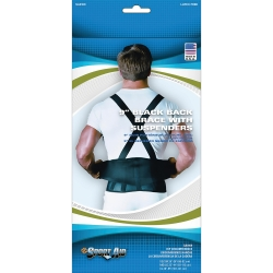 Sport-Aid™ Back Support Belt with Suspenders, Medium / Large