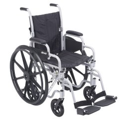 drive™ Poly-Fly Transport Wheelchair
