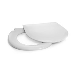 McKesson Toilet Seat/Lid, For Use With Commode with 7/8 in. Tubing