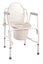 drive™ K.D. Deluxe Commode Chair