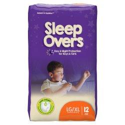 Cuties® Sleep Overs® Absorbent Underwear, Large / Extra Large