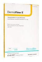 DermaView II™ Transparent Film Dressing with Border