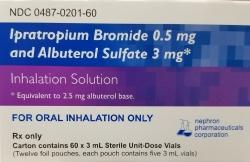 Nephron Pharmaceutical 00487020160